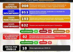 Cruz das Almas três novos casos são confirmados de coronavirus no município