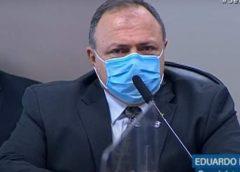 CPI: Pazuello culpa governador de Manaus por fechamento de hospital de campanha